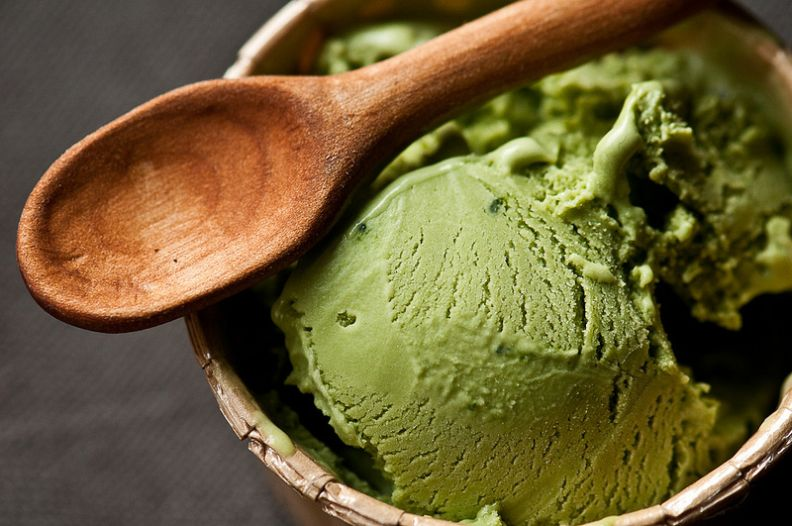 сладолед със спирулина