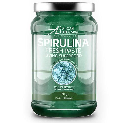 Свежа спирулина Alphyca от микроводорасли спирулина. Водорасло спирулина за подпомагане цялостното състояние на организма. Спирулина цена от 29,90 лв.