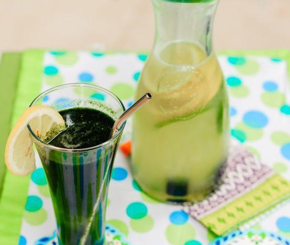 Свежа лимонада със Спирулина. Спирулина свойства за здрав организъм.