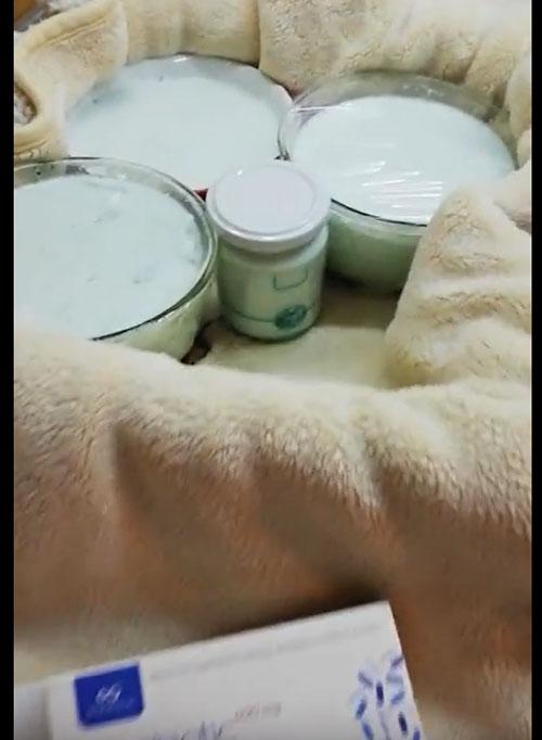 Съд за подквасване на мляко