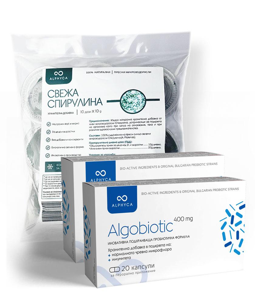Пробиотик, пробиотици, спирулина